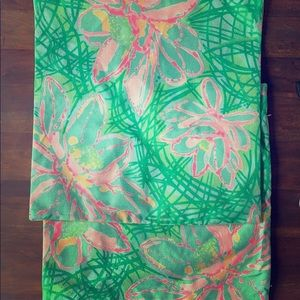Other - Lilly Pulitzer inspired pillow shams (2) 18x18 in
